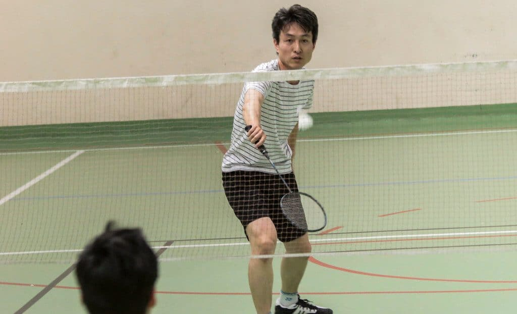 Badminton Backhand Grip