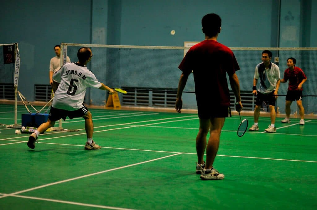 tendonitis in badminton