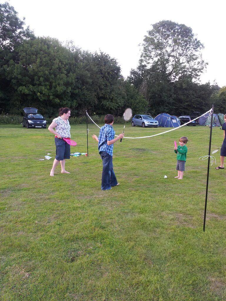 Badminton At Home
