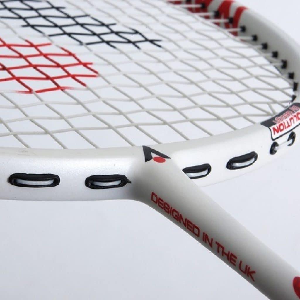 old badminton racket