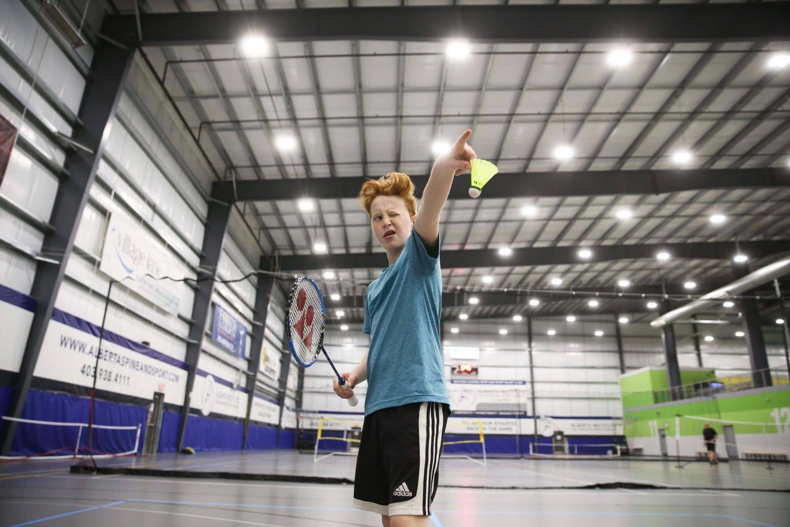 Top tips for badminton beginner
