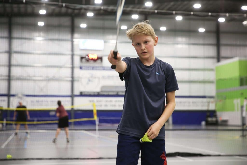 Standard Badminton Grip