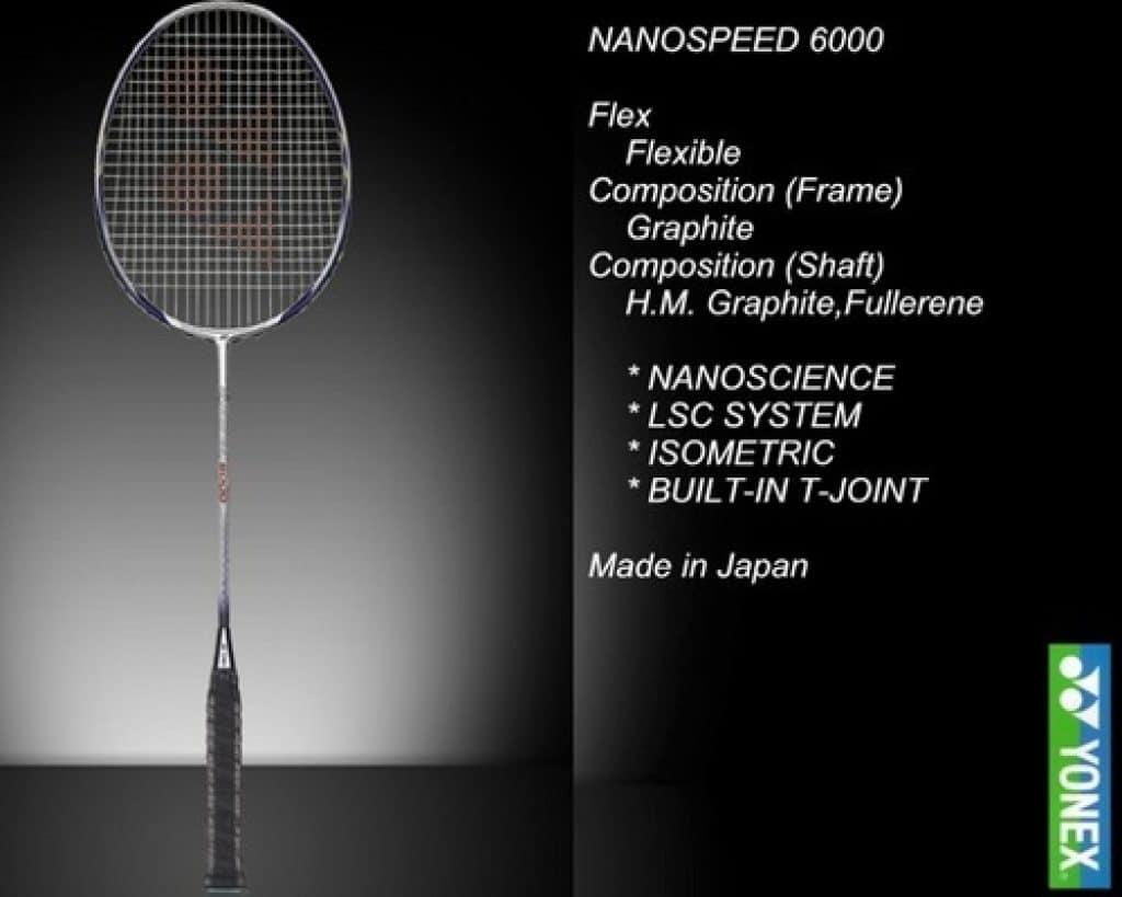 Yonex Nano Speed 6000 Spces