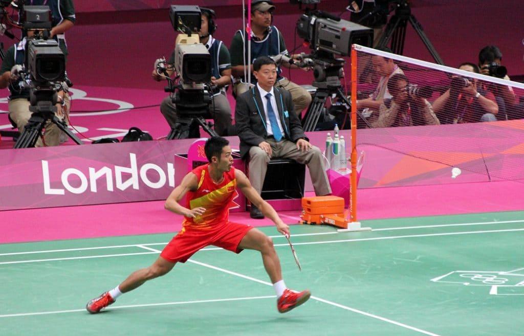 Lin Dan's Badminton Racket