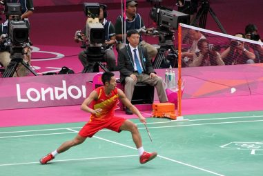 Lin Dan's Badminton Racket in 2021