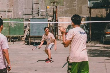Playing Badminton With a Low Budget